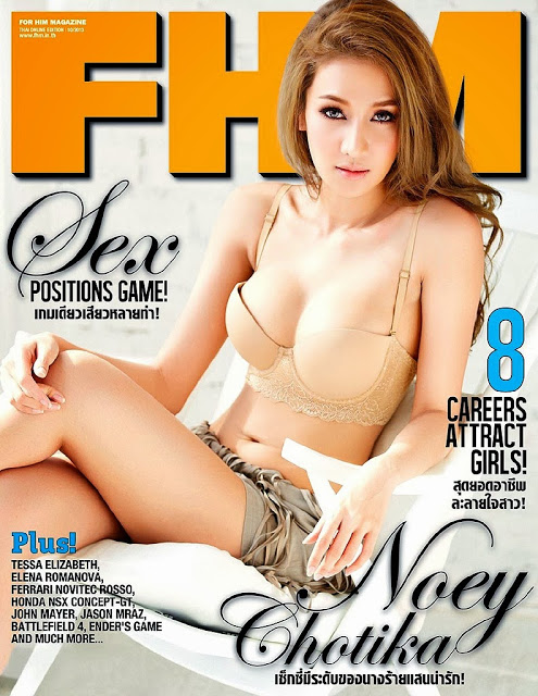 Noey Chotika - FHM Thailand October 2013
