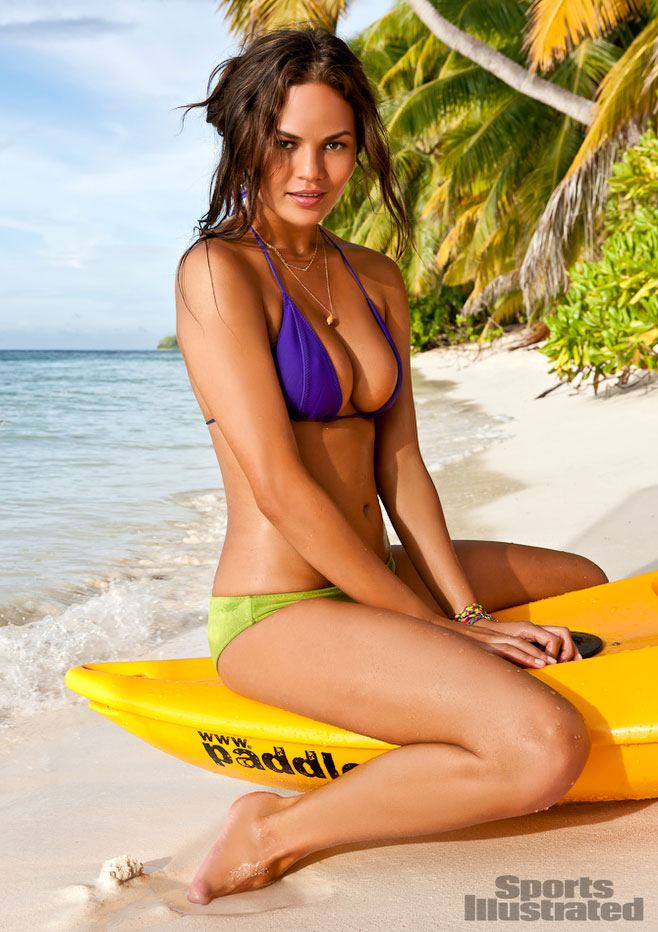 Christine Teigen in Sports Illustrated's 2012 Swimsuit Issue